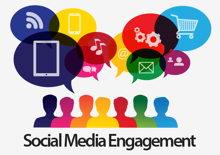 illustrazione social media engagement