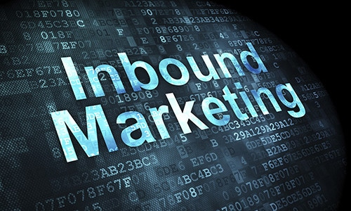 scritta inbound marketing