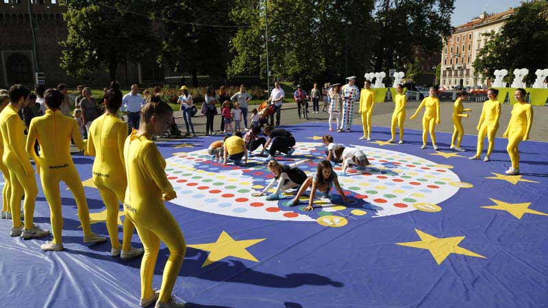 Unconventional actions: lo Street marketing di Creativi Digitali. per la commissione europea
